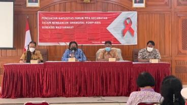 PENGUATAN KAPASITAS FORUM WPA KECAMATAN DALAM MEMBANGUN SINERGITAS P2HIV-AIDS BERBASIS MASYARAKAT